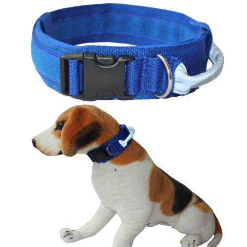 Tactical Military Dog Collar with Handle for Medium Large Dogs Pit Bull Terrier