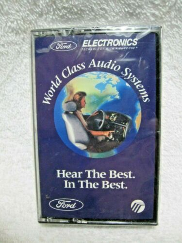 NOS FORD ELECTRONICS Audio Systems Unopened Demonstration Cassette Tapes-Mustang