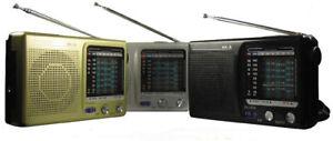 Radio Portatile KK-9 AM FM Tv1-5ch MW SW1-7 Ricevitore 9 Bande Audio Radiolina