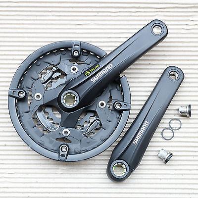 SHIMANO Alivio FC-T4010 Octalink 3 fach Kurbel 44 32 22 Zähne 170 mm schwarz