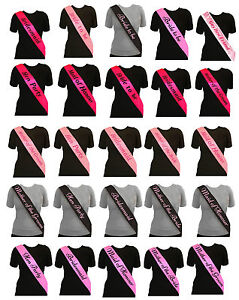Hen-Party-Sash-Bride-To-Be-Bridesmaid-Mother-Of-Maid-Sashes-Night-Do-5-Colours