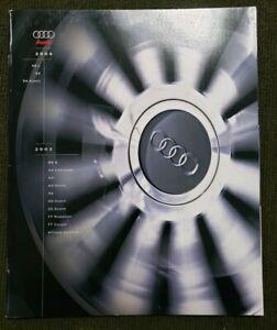 Original-2003-2004-Audi-Full-Line-Deluxe-Sales-Brochure-03-04-TT-RS-6-A8-L-S4