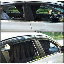 2x Car UV Protection Sun Shade Curtains Side Window Visor Mesh Cover Shield 70cm