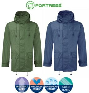 Fortress Tempest Waterproof Jacket, Breathable Windproof Fleece Lined Walk Hike