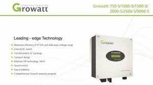 Details about GROWATT 2 5kw Solar Inverter 2500s - DC FULL RANGE AVAILABLE