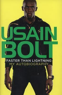 1 of 1 - USED (GD) Faster than Lightning: My Autobiography by Usain Bolt