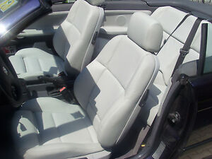Image Is Loading BMW 3 Series E36 Convertible Leather Seat Covers