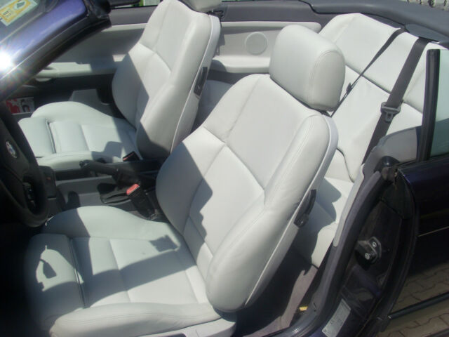 BMW 3 series e36 convertible leather seat covers genuine BMW Montana leather