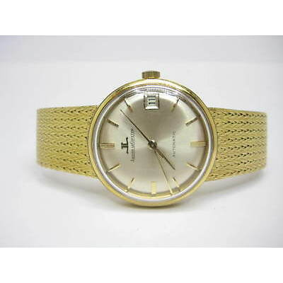 JAEGER LE-COULTRE Automatic Yellow Gold 18Carat ref:1013883 Gent's Watch Used.