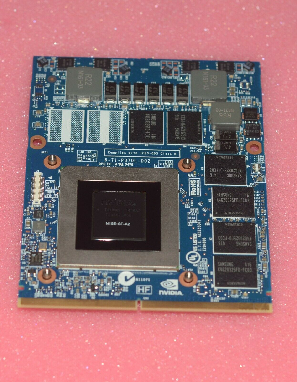 CLEVO Nvidia GeForce GTX 870M 3GB DDR5 for Clevo MSI and Alienware