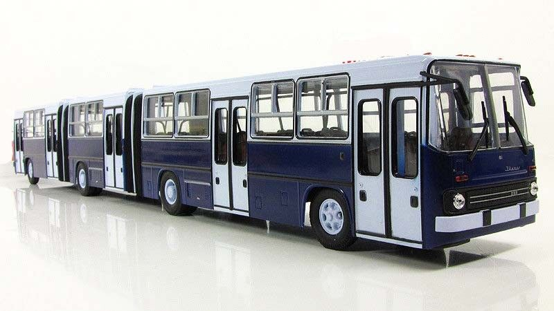 1/43 Ikarus - 293 2018 muy larga Bus Autobús soviético
