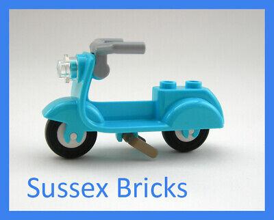 Lego City Friends Elves Castle 10 x Med Azure Plant Leaves 6 x 5 NEW