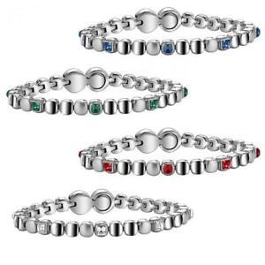 GIOIELLI TJ1459 BREIL Bracciale Rolling Diamonds Swarovski Blu