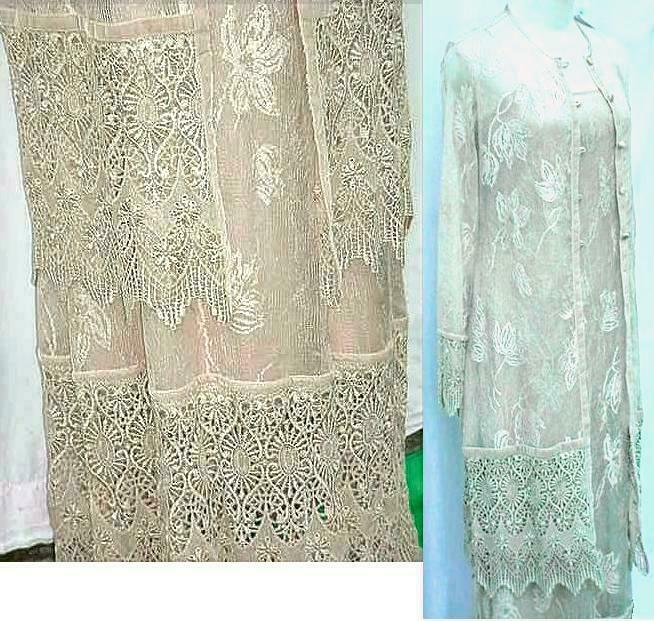 NWT ~ SUE WONG Elegance Mother of the Bride WEDDING Dress +Coat MOTHERS DAY Med.