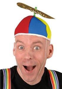 Image is loading Multi-Color-Propeller-Beanie-Dork-Clown-Nerd-Hat 5219aaf3677c
