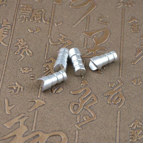 50 Stück Moon Nock End Armbrustbolzen Aluminium Pfeilnocke 7.6mm Pfeile Schießen