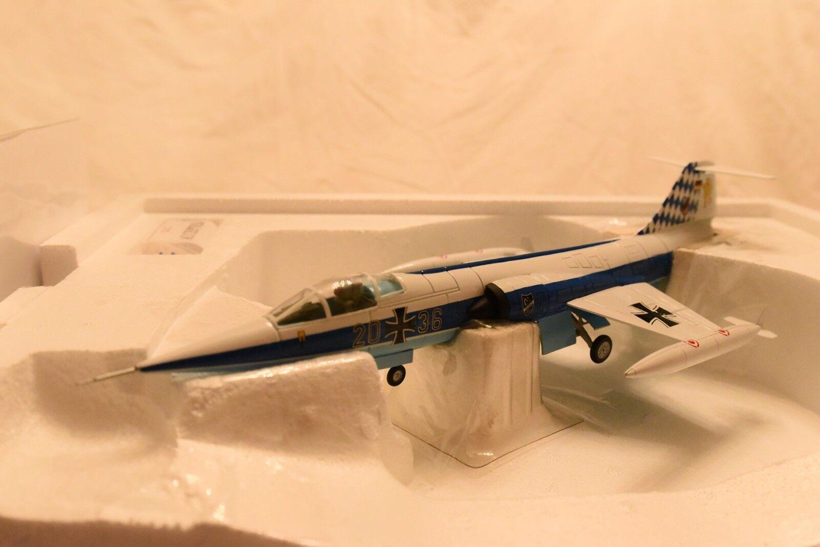 Franklin Mint 1 48 Aircraft F104 Starfighter Bavaria New Model B11D751