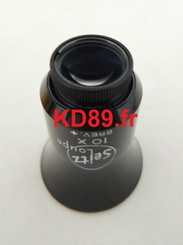 Bergeon 30654-A X 10 SEITZ Adjustable loupes Eyeglass SWISS MADE