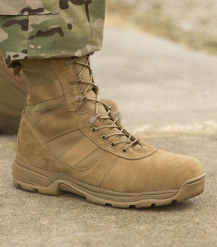 Para hombre Mil Spec A670-1 8  botas Coyote serie 100 por Propper F4508