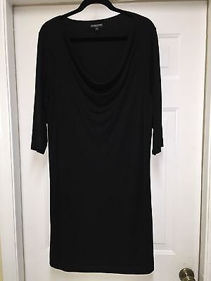 Eileen Fisher Women's Black Dress Size Women's' plus 1X