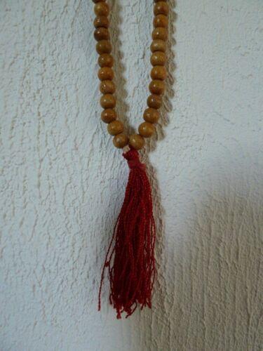 Mala cadena de oración madera Tibet Nepal om Buda cadena