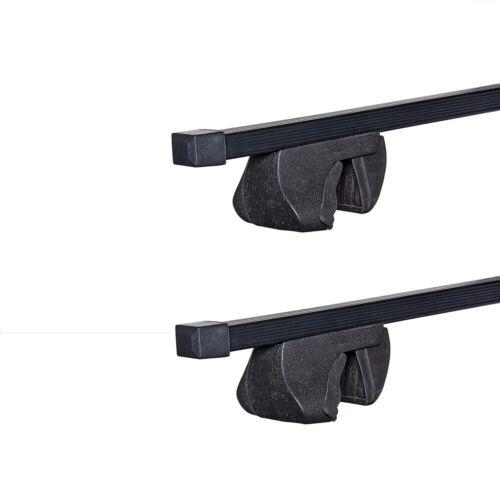 Alfa ST 120cm Steel Roof Rack Cross Bars Rails Porsche Renault Seat Skoda Subaru