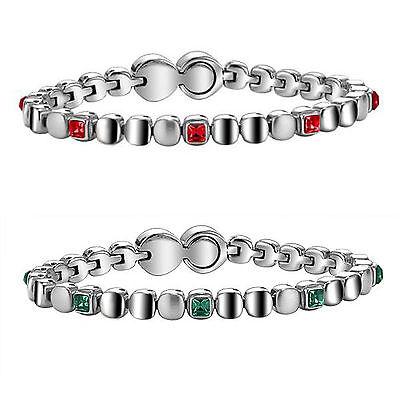 Gioielli Breil Rolling Diamond in acciaio con pietre svarowski bracciale donna
