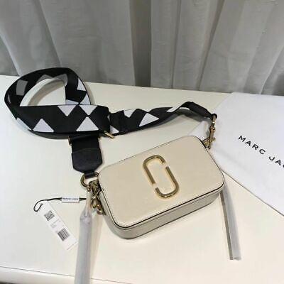 Marc Jacobs Snapshot Small Camera Bag Cloud White Multi Sales Sii Amichevole In Uso