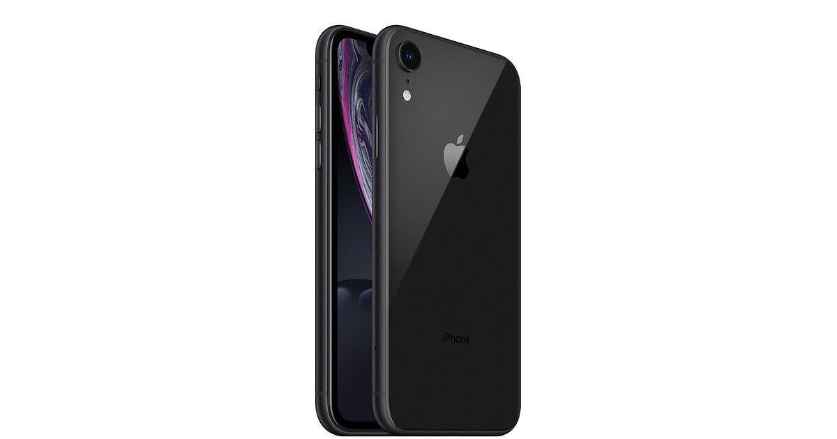 Apple iPhone XR 64GB Black LTE Cellular AT&T MT3K2LL/A