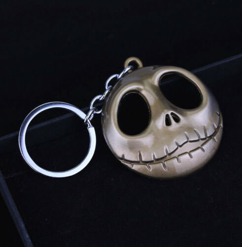 1pc The Nightmare Before Christmas Jack Skellington Metal Keyring Key Chain cool