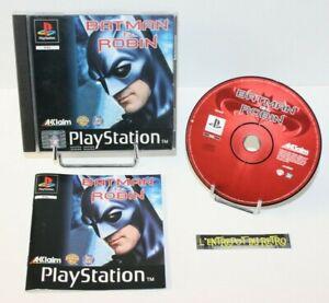 ++ jeu playstation 1 PS1 BATMAN & ROBIN ++