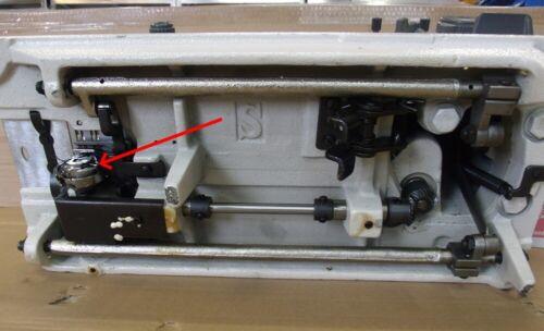 Spulenkapsel mit Ringelschwänzchen bremse für Zick Zack Nähmaschinen