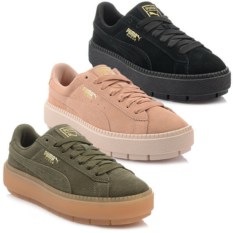 Nuevo Modelo  Zapatos Puma Plataforma Trace Trace Trace MUJERES Mujer Exclusivo  Entrega directa y rápida de fábrica