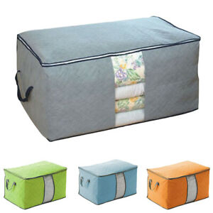 New-Storage-Containers-Closet-Organizers-Bins-for-Comforter-Clothes-Blankets-Wor