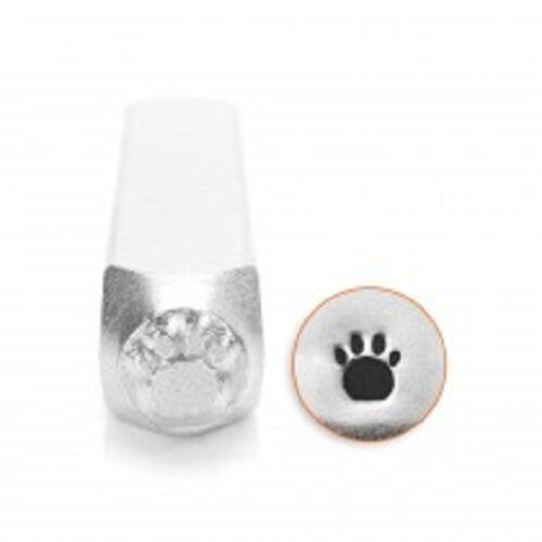 Paw Print Metal Design Stamp Impressart Metal Jewelry Punch for jewelry blanks