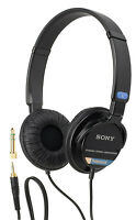 Sony Sh02 Professional Stereo Headphone For Canon Xf100 Xa25 Xa20 Xa10 Hd Audio