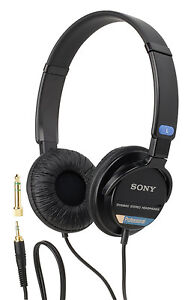 Sony SH02 Professional stereo headphone for Canon XH-G1 XH-G1s XHG1 XHG1s audio