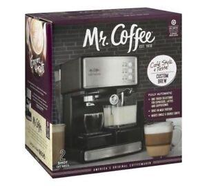 Image Is Loading Mr Coffee Cafe Barista Espresso Cuccino Maker Automatic