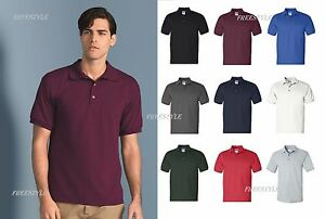ca8edc0e2e6 Gildan - Men's Ultra 100% Cotton Jersey Knit Tee Sport Polo T-Shirt ...
