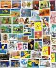 BRESIL - BRAZIL collections de 50 et 100 timbres différents neufs