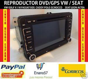 7-034-Autoradio-VW-Seat-Altea-Golf-SciroccoPassat-Touran-Jetta-DVD-GPS-Radio