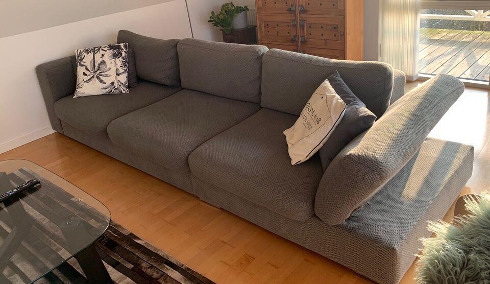 Sofa, stof, 4 pers.