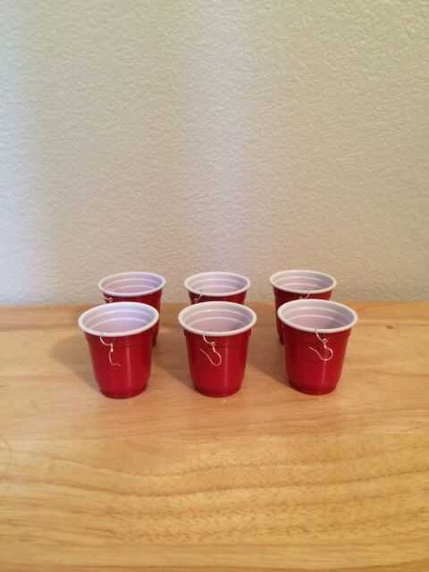 3 Pairs Red Solo Cup Earrings 925 Sterling Earrings Whiskey Girl Toby Keith
