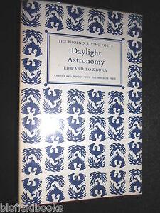 SIGNED-EDWARD-LOWBURY-Daylight-Astronomy-1968-1st-The-Phoenix-Living-Poets