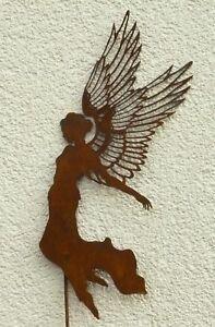 Außendekoration Weihnachten.Details Zu Aurelia Himmlischer Engel Filigrane Flügel Stecker Weihnachten Außendekoration