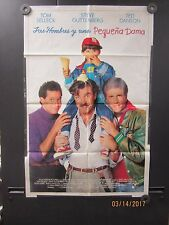 3 Men & a Little Lady ''Tres Hombres y una Pequena Dama'' Orginal 1 sheet Poster