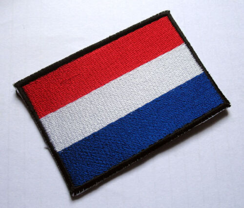 NETHERLANDS HOLLAND DUTCH NATIONAL FLAG Sew on Patch Free Shipping