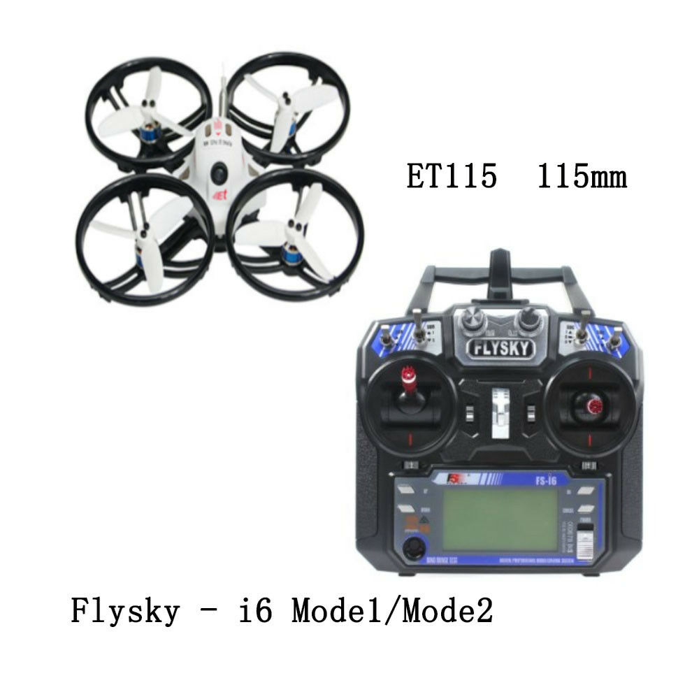 Et115 quadcopter brushless FPV RC Racer racing drone w fs-i6 RC transmisor