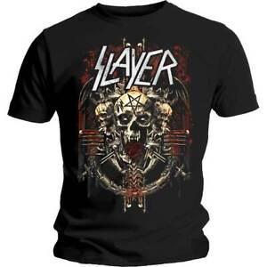 Slayer-Demonic-Admat-Shirt-S-M-L-XL-XXL-Metal-Band-T-Shirt-Official-Tshirt-New