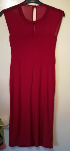 Knee Red Uk Length Impreziosito 18 Size Bnwt Cocktail Dress Monsoon Gem Serena gFqxOfS